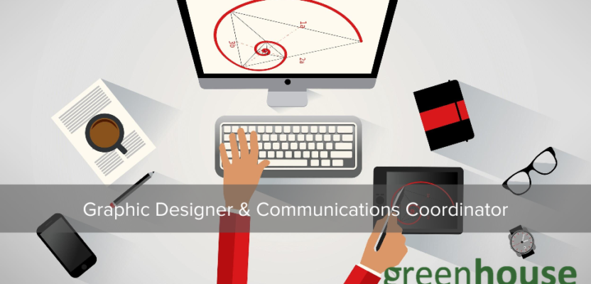 Join Greenhouse as a Graphic Designer & Communications Coordinator