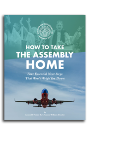 How to Take the Assembly Home - By Rev. Canon William Beasley